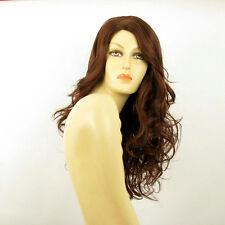Perruque femme longue châtain foncé cuivré PRISCA 31