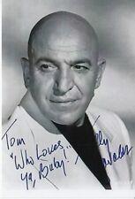 Telly Savalas ++Autogramm++ ++ KOLJAK Kultserie 70er Jahre ++2