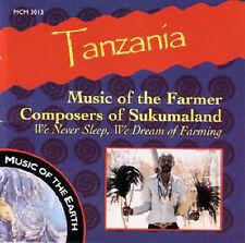 NEW Tanzania: Music of Farmer Composers of Sukumaland (Audio CD)