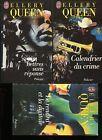 ELLERY QUEEN / Lot de 3 Romans policier J'ai Lu ..Texte intégral