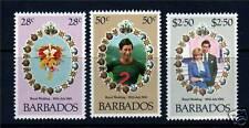 Barbados 1981 Royal Wedding SG674/6 MNH