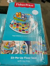 New listing Fisher Price Deluxe Sit Me Up Floor Seat w/ Tray