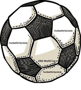 1962 World Cup Brazil vs Spain DVD