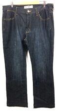 JEANSWEST Tummy Trimmer Dark Blue Straight Leg Denim Jeans Size 15