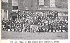 Dover. Band & Pipers of the Gordon Boys' Orphanage.