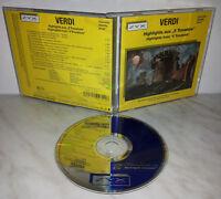 "CD VERDI - HIGHLIGHTS FROM "" IL TROVATORE """