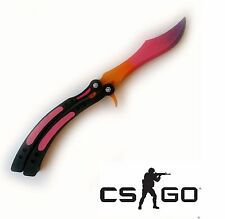 CS:GO toy knife Balisong Butterfly game Counter-Strike: Global Offensive wooden