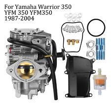 Carburateur Carb Filtre replace pour Yamaha Warrior 350 YFM 350 YFM350 1987-2004