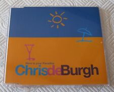 Chris DeBurgh - Here Is Your Paradise - Scarce Mint 1994 Cd Single
