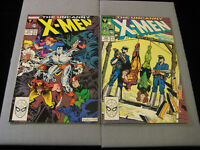 The Uncanny X-MEN #235 And #236 (1988, Marvel)