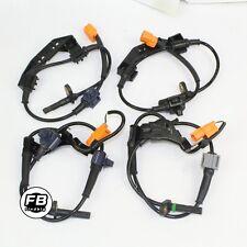 4 Pcs ABS Wheel Speed Sensor Rear & Front For 2002-2006 Honda CRV L4-2.4L NEW