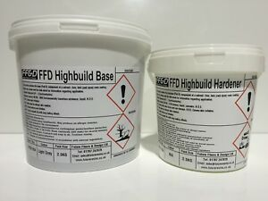 High Build Epoxy Floor Paint 2.5KG Solvent Free (Industrial Grade For Garages)