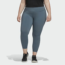 adidas Believe This Solid 7/8 Tights (Plus Size) Women's Tights