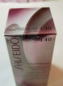 Shiseido The Makeup Dual Balancing Foundation,1fl.oz - I40 Natural Fair Ivory