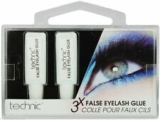 Technic False Eyelash Clear Glue Adhesive 3,6 or 9 Tubes