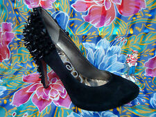 SAM EDELMAN - ROZA - Black Studded Spiked Platform Pumps High Heels - Size 8.5 M