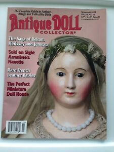 ANTIQUE DOLL COLLECTOR MAGAZINE NOVEMBER 2020