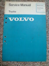 VOLVO TRUCK AIR OPERATED S-CAM BRAKES MANUAL  ...  F / G-8  N & F SERIES