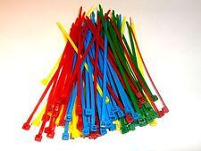 Colliers de serrage Rilsan Colson Nylon de 4 couleurs 150 mm x 3.6 mm 100 pièces