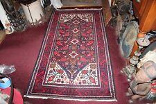 "Afghan Belutch Baluchi Rug Carpet Red Tribal Designs 78"" X 42"""