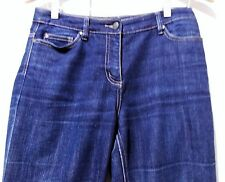 Immaculate Size 8 Sportscraft Blue Cotton/Polyester/Elastane Denim Women's Jeans