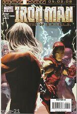 The Invincible Iron Man #26 Apr 2008, Marvel Comic Book