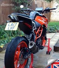 Tail Tidy for KTM Duke 125/390.2017 on Number Plate Holder. Fender Eliminator.