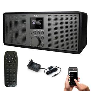 Internetradio WLAN Radio XORO DAB 700 IR mit Bluetooth Spotify USB MP3 Wecker