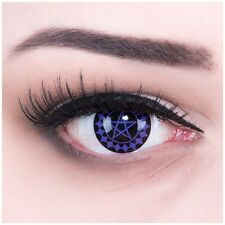 Coloured Contact Lenses Black Butler Contacts Color Anime + Free Case Carnival