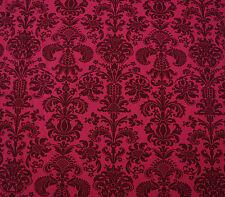 Popeline de coton 44 pouces large rose Motif imprimé tissu By The Yard, Tc 200