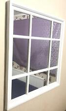 White Window Soho Style Mirror Hallway Vanity Wall Elegant Vintage Style Gift