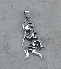 EXOTIC .925 STERLING SILVER MYSTIC KOKOPELLI PENDANT  style# p0861