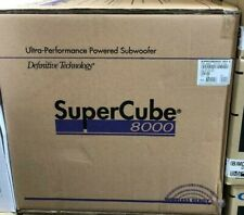 New listing Definitive Technology SuperCube 8000 Powered Subwoofer Brand New, Free Shipping!