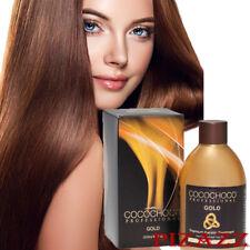 COCOCHOCO Gold KERATIN HAIR TREATMENT 250ml / 8.4oz - 24k Liquid Gold