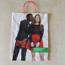 """United Colors of Benetton PAPER Shopping Bag, HUNGARY 13 X 9 X 3 """""""
