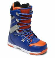 DC Men's MUTINY Snowboarding Boots - Surf Silver Red - US Size 8.5 - NIB