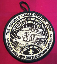 Bsa Boy Scout Uniform Patch Bsa Double Eagle Mystery Mercer Area Battleground 06