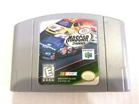 NASCAR 2000 Nintendo 64 N64 OEM Game Tested + Working & Authentic !