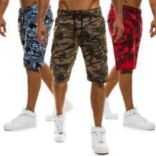 Abbiglimento sportivo da uomo pantaloncini multicolore in cotone