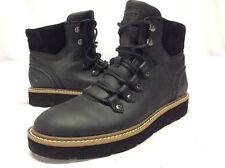 Sperry Top Sider Women's Shorts Laces Boots Size 7 BLACK Leather