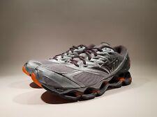 MIZUNO Wave Prophecy 8 Men Running Shoes Sz 8 8.5 10 11.5 Grey Orange J1GC190052