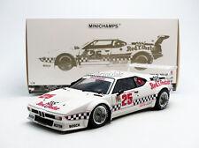 Minichamps BMW M1 Winner LA Times GP 1981 Cowart / Miller #25 in 1/18 New