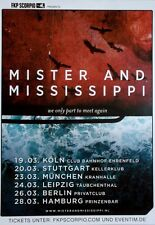 Mister and Mississippi - 2015-TOUR POSTER - we only part to meet-TOUR POSTER