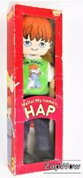"HAP RAG DOLL 1979 Susan Perl Healthtex 12"" Soft Toy Boxed Determined 1970s"