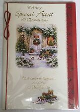 Per una molto speciale zia a christmastime-Christmas greeting card
