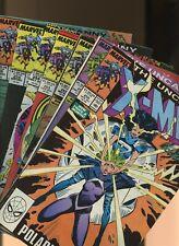 Uncanny X-Men 250,251,252,253,254,255,256 * 7 * Marc Silvestri 1st Kwannon!