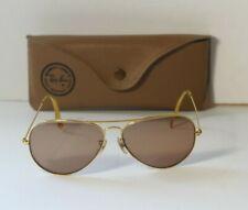 Vintage 1980's - 1990's Ray Ban Sunglasses & Ray Ban Case