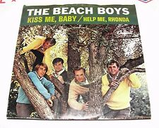 The BEACH BOYS / Help Me Rhonda & Kiss Me Baby Capitol 45 rpm '65 picture sleeve