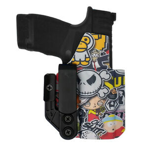 Axis IWB/AIWB Holster   Glock 43/43X/MOS   StickerBomb