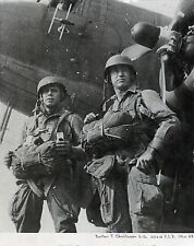 EASY COMPANY 101ST AIRBORNE C-47 SKYTRAIN BAND OF BROTHERS WWII PHOTOGRAPH